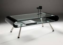Coffee Tables Black Glass Black And Chrome Coffee Table Nrhcares