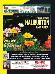 haliburon phonebook 0713 by susan k bailey marketing u0026 design issuu