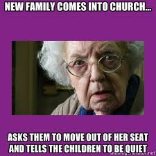 Old Lady College Meme - grumpy old woman anglican memes