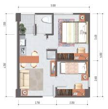 Top Decorating Small Apartment Plans Also Home Interior Design - Studio apartment layout design
