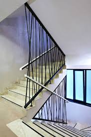 Stairwell Banister Modern Stair Banister 13226