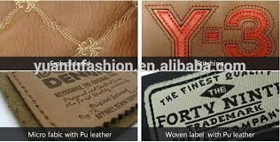 Leather Patches For Sofa by Sofa Custom Brand Embossed Logo Deep Engrave Pu Leather Patches