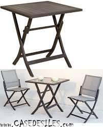 table jardin pliante pas cher table de jardin aluminium pas cher uteyo