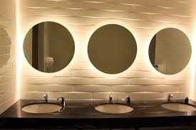 Hotel Bathroom Mirrors by There Two Way Mirror Public Bathroom Interesting Public Bathroom