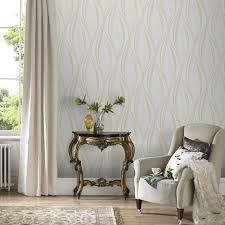 graham u0026 brown boutique tango embossed geometric ivory wallpaper