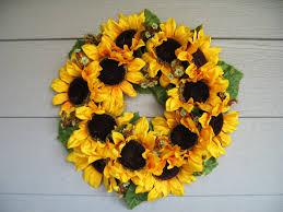 sunflower wreath sunflower wreath henhaus style
