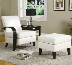 Leather Accent Chairs For Living Room White Leather Accent Chairs For Living Room Elegance Leather