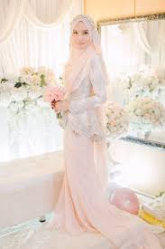 wedding dress muslimah awesome muslim wedding dresses blush peplum dress for