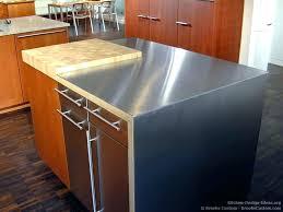 steel top kitchen island stainless steel island openpoll me