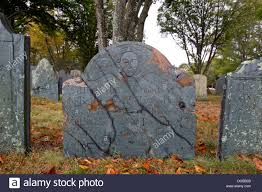 old new england cemetery gravestone headstone plymouth rock