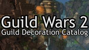 Gw Home Decorating Forum Guild Wars 2 Guild Hall Decorations Catalog Youtube