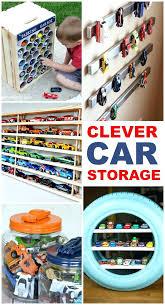 toy storage idea for kids 5 diy matchbox car garage toy truck