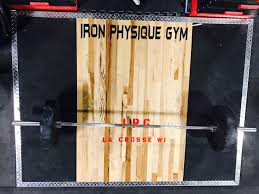 home iron physique gym fitness in la crosse wi