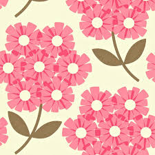 kiely wallpaper giant rhododendron pink