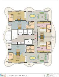 Centralized Floor Plan by Coxswain Projects Coxswain 23 The 23 Floor Architectural Wonder