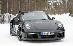 Porsche 911 Design - new porsche 911 spied with production body shows mission e and