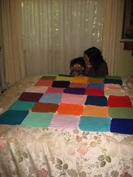 5 By 7 Rug Roy Creates A Warm Winter Rug Part 2 Joining The Squares The