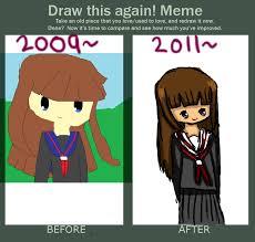 Emo Meme - draw this again meme by the emo goth on deviantart