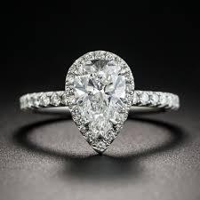 diamonds rings tiffany images Tiffany co 1 34 carat pear shape diamond halo ring jpg