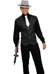 Gangster Costumes Halloween Mens 20 U0027s Costumes Adults 20 U0027s Halloween Costume Men