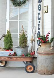 christmas on the front porch