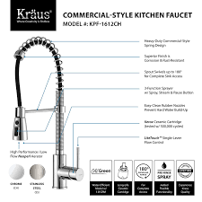 review of kitchen faucets kraus kpf 1612 review kitchen faucet reviews