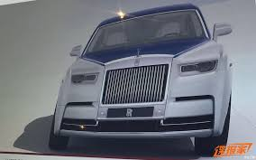 2018 rolls royce phantom viii teaser showcases front end design
