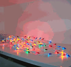 Multi Color Icicle Lights Multi Color Icicle Lights Icicle Party Lights White Wire W