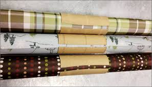rolls of wrapping paper wrapping paper storage tip