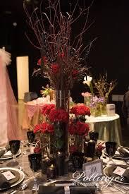 red centerpiece bollea u2013 floral design gallery