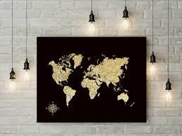 World Map Push Pin Board by Push Pin World Map Foam Board World Map Travel Map Gift For