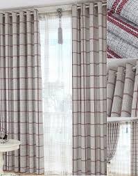 Grey Plaid Curtains Plaid Curtains Country Plaid Curtains