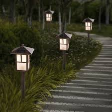 Solar Lights Patio by Solar Lights You U0027ll Love Wayfair