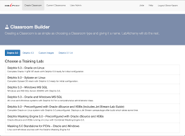 building classrooms in the cloud oracle alchemist