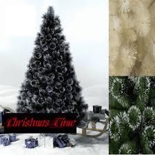 7ft 8ft quality green chagne black glitter tips tree