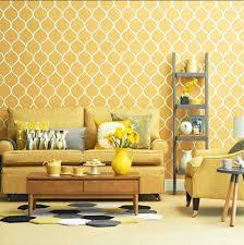 au ergew hnliche wandgestaltung beautiful tapeten wohnzimmer gelb gallery rellik us rellik us