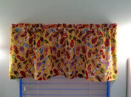 flip flop window valance flip flop curtains beach