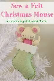 94 best felt christmas ornament tutorials images on pinterest