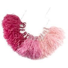 pink garland pink ombre tassel garland target
