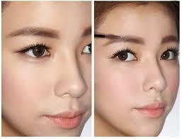 new angel cream natural skin hair enhancer wholesale beauty brown eyebrow dye cream natural makeup brush