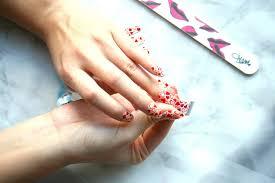 nails red velvet london