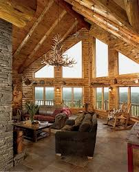 Pictures Of Log Home Interiors Log And Custom Home Builder In Upstate New York And Adirondacksny