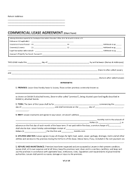 Free Lease Agreement Commercial Rental Agreement Form 20 Free Templates In Pdf Word
