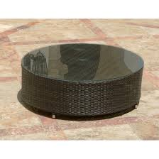 Round Patio Table Cover With Umbrella Hole by Outdoor Coffee Tables Patio Furniture The Home Mosaic Round Table