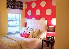 Teenage Bedroom Wall Colors - girls bedroom good looking pink teenage bedroom decoration