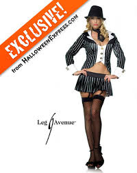 Convict Halloween Costumes Women U0027s Gangster Costume Costumes