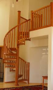 Wooden Spiral Stairs Design Wood Spiral Stairs