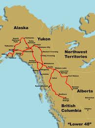 Alaska Marine Highway Map by Stewart Alaska Map Canada Map