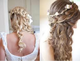 coiffure mariage cheveux lach s coiffure de mariage tresses hair inspiration