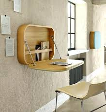 Small Apartment Desk Ideas Desk Clever Idea For A Small Apartment Compact Wall Mount Work